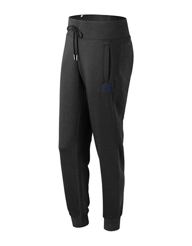 New Balance Tapered Sweatpants-BLACK-Medium