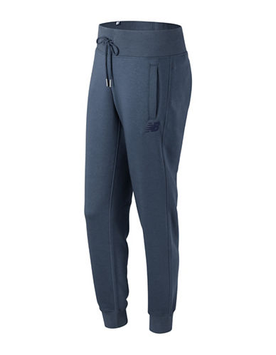 New Balance Essentials Athletic-Fit Sweatpants-BLUE-X-Small
