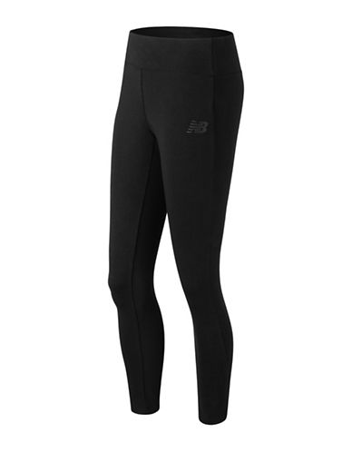 New Balance Athletic Fitted Leggings-BLACK-Large