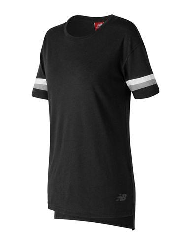 New Balance Athletics Tunic Tee-BLACK-Small