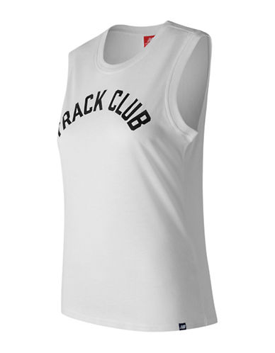 New Balance Track Club Logo Tank Top-WHITE-Large
