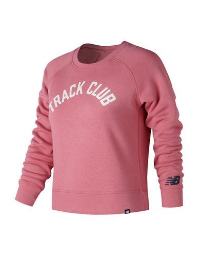 New Balance Track Club Sweatshirt-PINK-Large