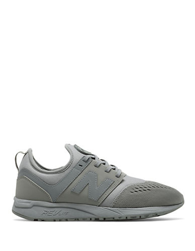 New Balance 247 Mesh Sneakers-GREY-9.5W