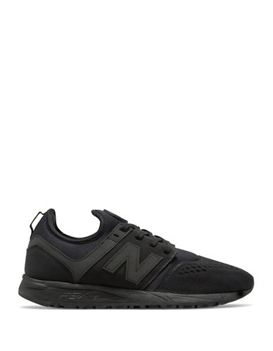 New Balance 247 Mesh Sneakers-BLACK-12W