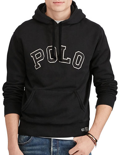 Polo Ralph Lauren Sporty Fleece Hoodie-BLACK-XX-Large 89604310_BLACK_XX-Large