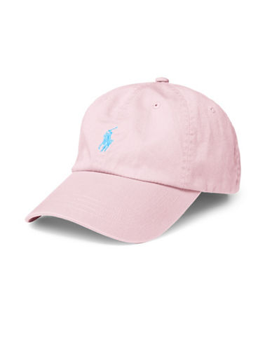 Polo Ralph Lauren Classic Chino Sports Cap-PINK-One Size