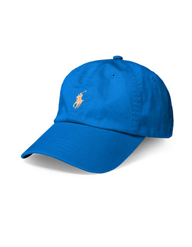 Polo Ralph Lauren Classic Chino Sports Cap-PURE SAPPHIRE-One Size