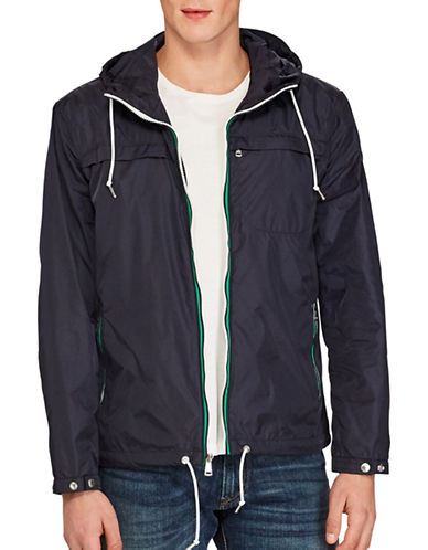 Polo Ralph Lauren Packable Anorak Jacket-NAVY-XX-Large