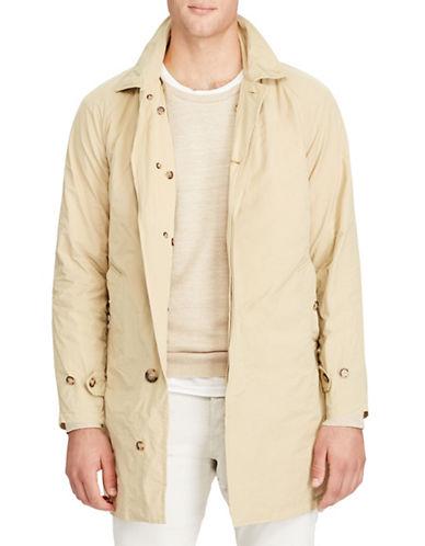 Polo Ralph Lauren Twill Balmacaan Coat-SOFT KHAKI-Large
