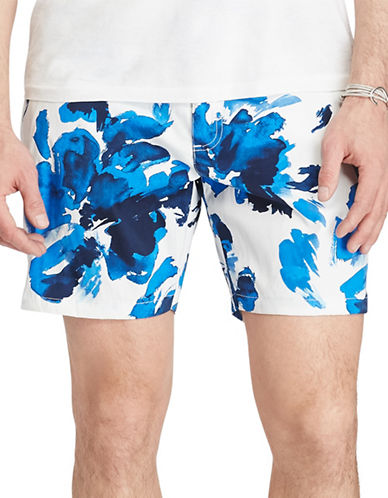 Polo Ralph Lauren Monaco Swim Trunks-BLUE WATER-40