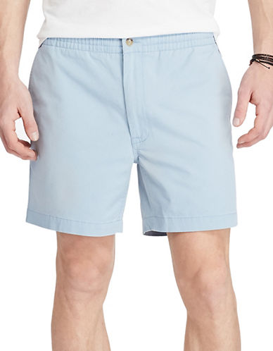 Polo Ralph Lauren Classic Fit Drawstring Short-BLUE-Large