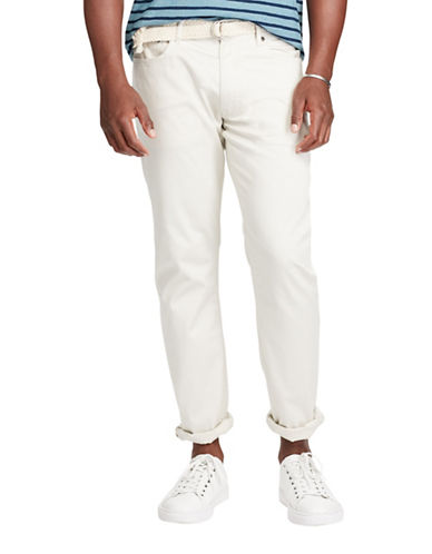 Polo Ralph Lauren Hampton Stretch Straight Pants-STONE-40X30