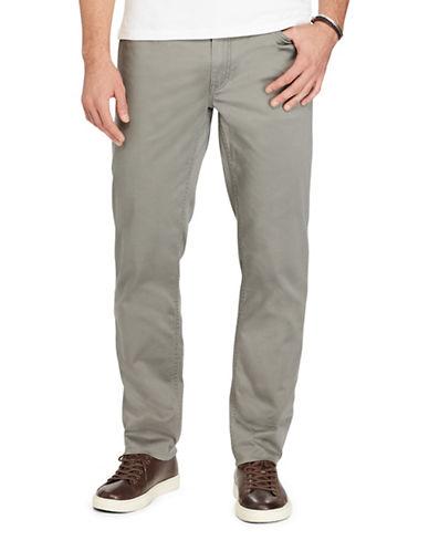 Polo Ralph Lauren Hampton Stretch Straight Pants-GREY-34X32 88965721_GREY_34X32