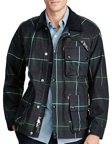 Polo Ralph Lauren Water-Resistant Cotton Jacket-GREEN-Small