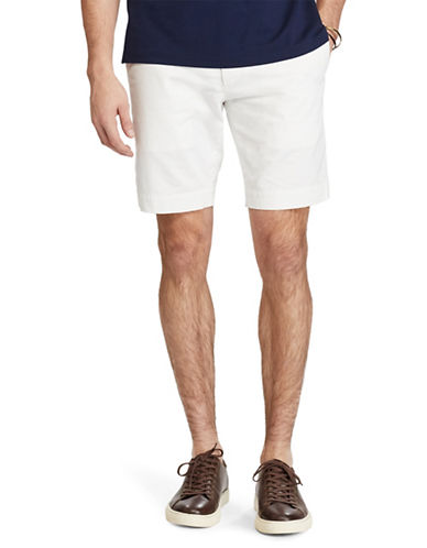 Polo Ralph Lauren Stretch Slim-Fit Chino Shorts-WHITE-32