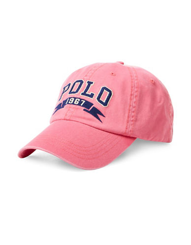Polo Ralph Lauren Polo Chino Cap-RED-One Size
