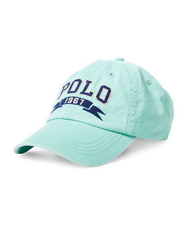 Polo Ralph Lauren Polo Chino Cap-GREEN-One Size