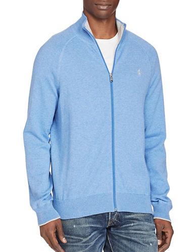 Polo Ralph Lauren Cotton Full-Zip Sweater-VINEYARD BLUE-Large 88963491_VINEYARD BLUE_Large