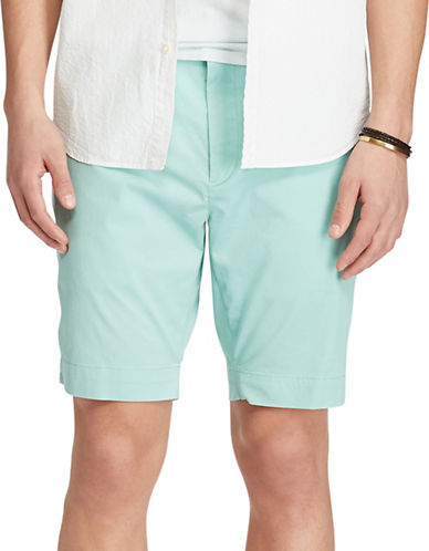 Polo Ralph Lauren Stretch Classic Fit Chino Shorts-GREEN-38