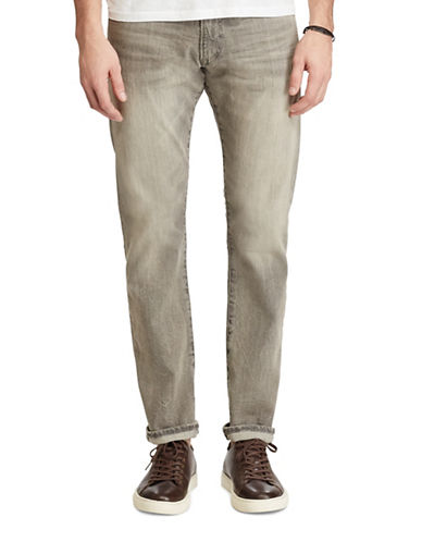 Polo Ralph Lauren Varick Slim Straight Jeans-GREY-32X32