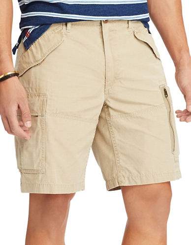 Polo Ralph Lauren Classic Fit Cotton Cargo Shorts-BOATING KHAKI-50 Big