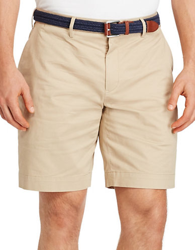 Polo Ralph Lauren Stretch Classic Fit Shorts-BEIGE-48 Big