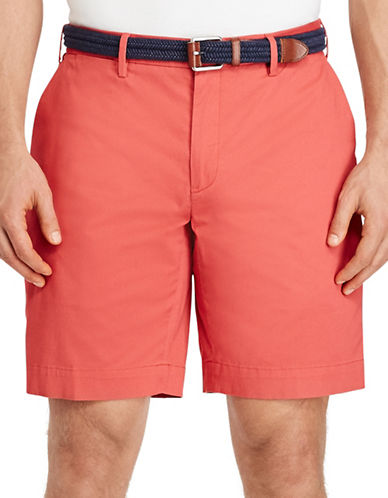 Polo Ralph Lauren Stretch Classic Fit Shorts-RED-50 Big