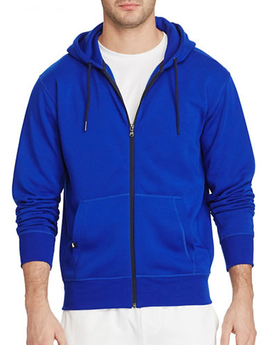 Polo Sport Fleece Full-Zip Hoodie-BLUE-Medium 88916754_BLUE_Medium