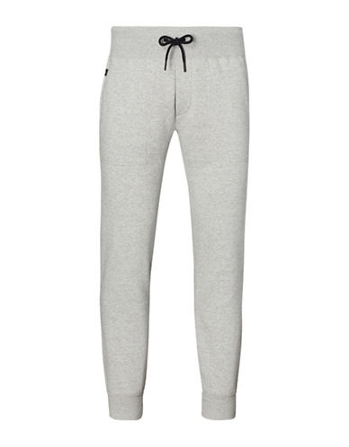 Polo Sport Cotton-Blend-Fleece Joggers-GREY-XX-Large