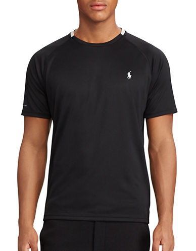 Polo Sport Micro-Dot Jersey Tee-POLO BLACK-Medium 88916793_POLO BLACK_Medium