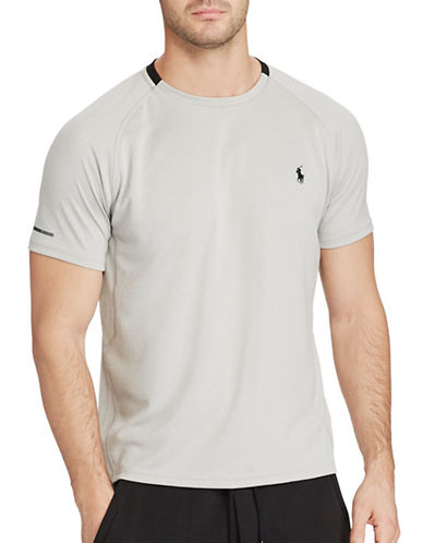 Polo Sport Micro-Dot Jersey T-Shirt-GREY-Large 88916797_GREY_Large