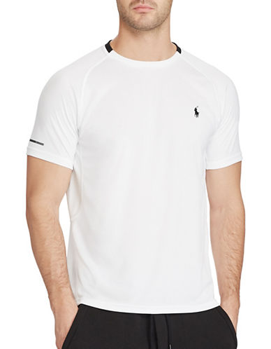 Polo Sport Micro-Dot Jersey T-Shirt-PURE WHITE-XX-Large 88916806_PURE WHITE_XX-Large
