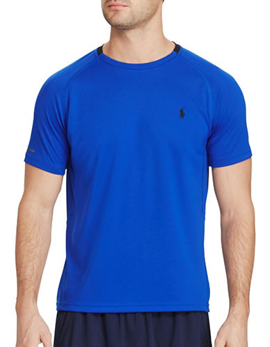 Polo Sport Micro-Dot Jersey T-Shirt-BLUE-XX-Large 88916816_BLUE_XX-Large