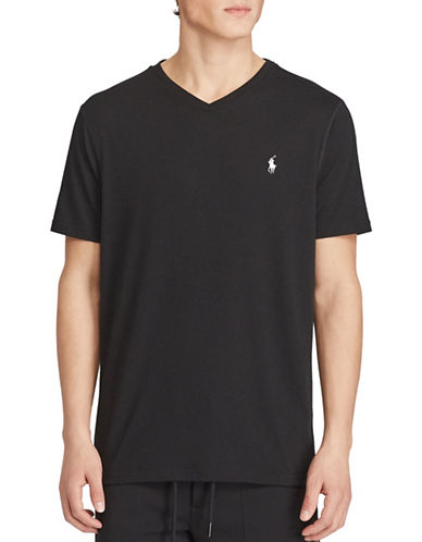 Polo Sport Jersey V-Neck T-Shirt-POLO BLACK-X-Large 88916825_POLO BLACK_X-Large