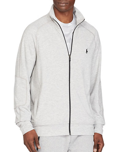 Polo Sport Terry Track Jacket-GREY-Small 88916839_GREY_Small