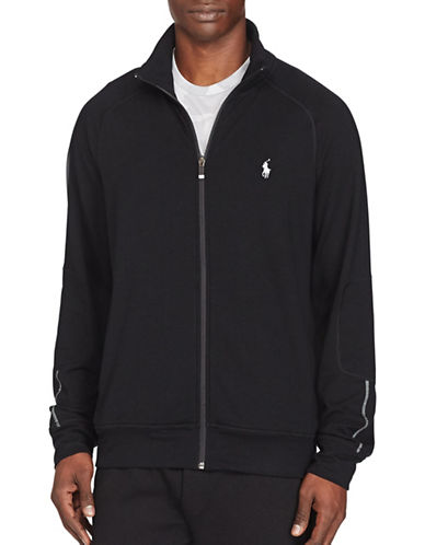 Polo Sport Terry Track Jacket-POLO BLACK-Large 88916842_POLO BLACK_Large