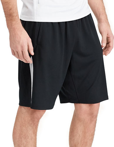 Polo Sport Textured Jersey Shorts-POLO BLACK-Large 88916852_POLO BLACK_Large