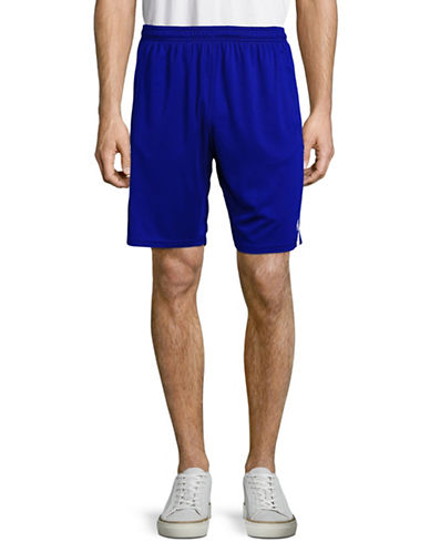 Polo Sport Perforated Mesh Shorts-BLUE-X-Large 88916865_BLUE_X-Large