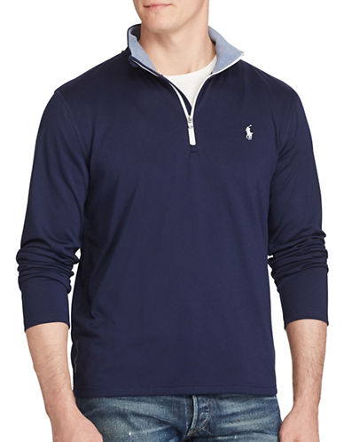 Polo Sport Stretch Jersey Pullover-NAVY-XX-Large 88916881_NAVY_XX-Large