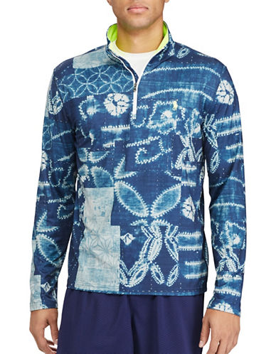 Polo Sport Printed Stretch Jersey Pullover-BLUE-Large 88916887_BLUE_Large