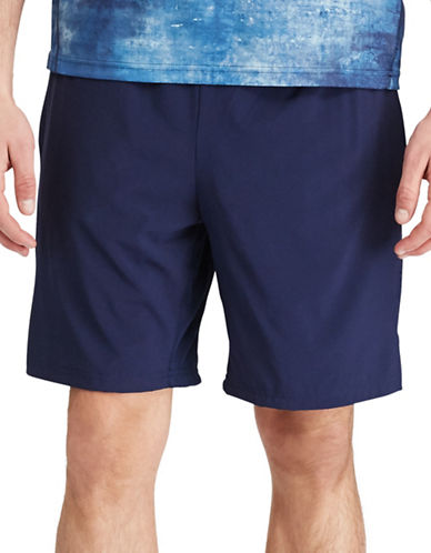 Polo Sport Compressed Solid Shorts-FRENCH NAVY-Medium 88916933_FRENCH NAVY_Medium