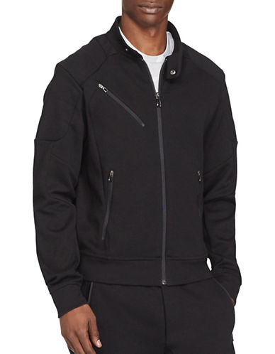 Polo Sport Double-Knit Moto Jacket-POLO BLACK-Large 88916962_POLO BLACK_Large