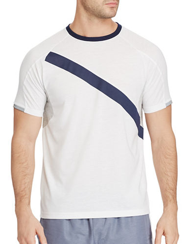 Polo Sport Performance Jersey T-Shirt-WHITE-Large