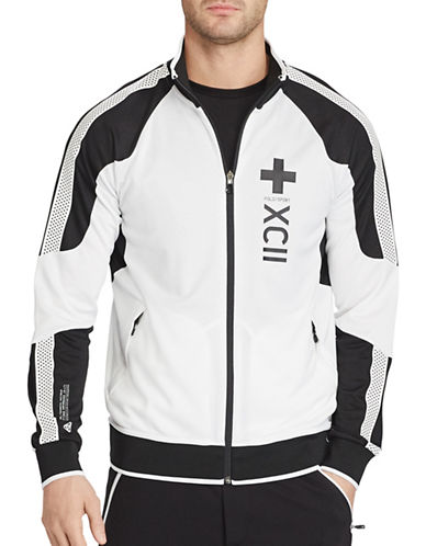 Polo Sport Mesh-Panelled Track Jacket-WHITE-XX-Large 88917006_WHITE_XX-Large