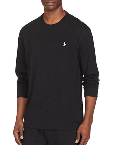 Polo Sport Jersey Long-Sleeve T-Shirt-POLO BLACK-Large 88917022_POLO BLACK_Large