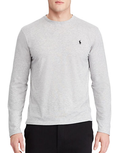 Polo Sport Jersey Long-Sleeve T-Shirt-GREY-X-Large 88917030_GREY_X-Large