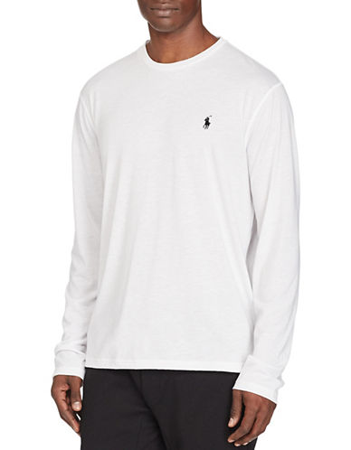 Polo Sport Jersey Long-Sleeve T-Shirt-PURE WHITE-XX-Large 88917036_PURE WHITE_XX-Large