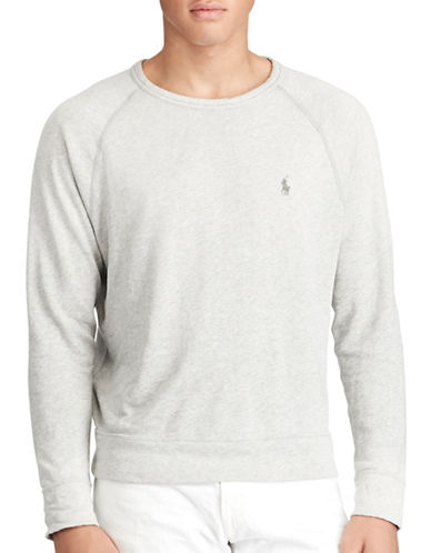 Polo Ralph Lauren Cotton Spa Terry Sweatshirt-GREY-XX-Large 88963894_GREY_XX-Large