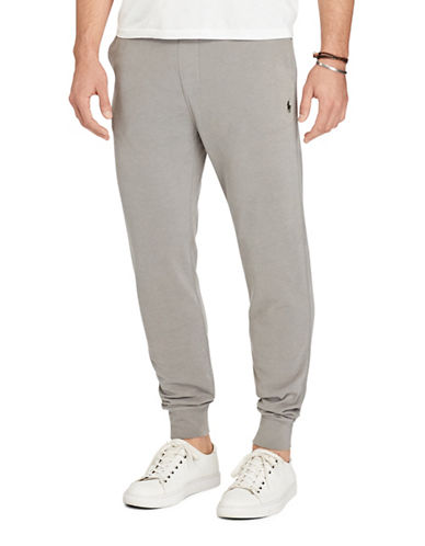 Polo Ralph Lauren Cotton Spa Terry Pants-GREY-X-Large 88963330_GREY_X-Large
