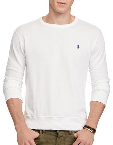 Polo Ralph Lauren Cotton Spa Terry Sweatshirt-WHITE-Medium 88963896_WHITE_Medium